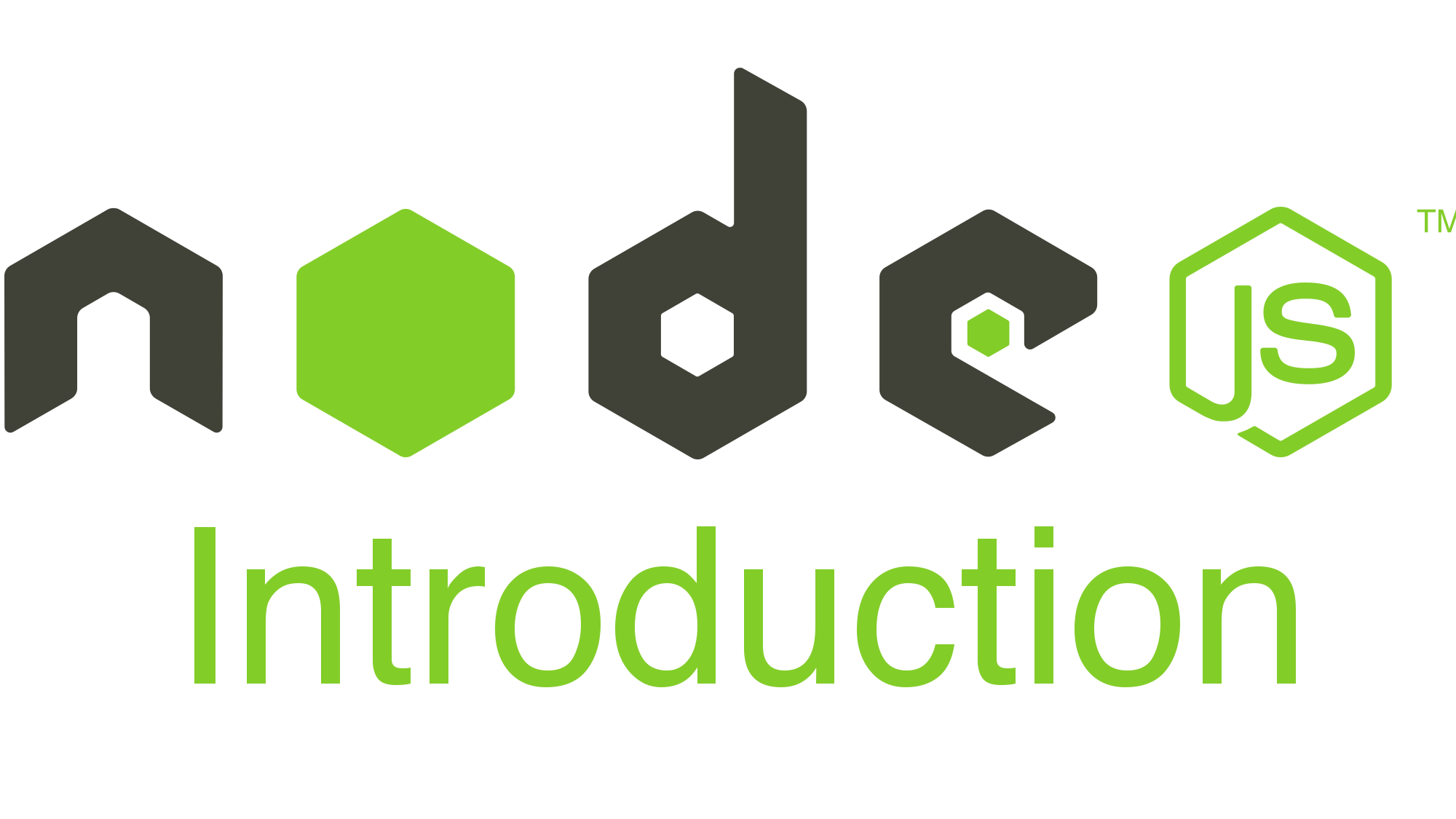 🔖 [Nodejs] Introduction to Nodejs